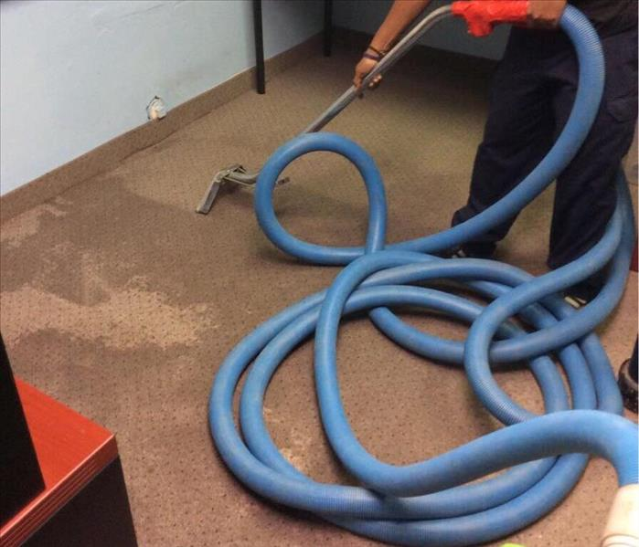 Water Cleanup On Carpet